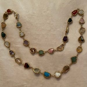 Jewelry - Multi gemstone necklace